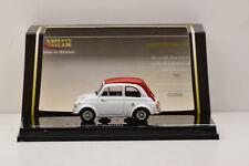 FIAT 500 ABARTH 695 SS WHITE / RED 1964 VITESSE 1/43 NEUF EN BOITE