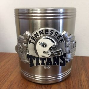 Tennessee Titans Stainless Steel Can Cooler