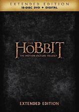 Hobbit Motion Picture Trilogy - 3 Disc Set (region 1 DVD Good) 8839294893