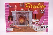 Gloria,Barbie Size Doll House Furniture/(96006) Fireplace Play Set