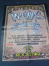 Poster IN FLAMES KILLSWITCH ENGAGE // IMMORTAL  57 x 45 cm