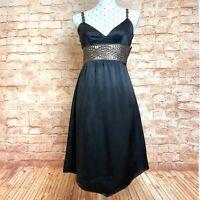 SEDUCE Dress Size 8 / Size S Black Evening Cocktail Party Summer