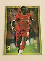 2020 Topps Champions League By Messi - Sadio Mane - Liverpool