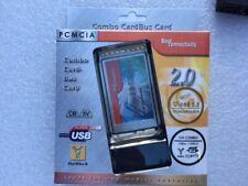 Combo Cardbus PCMCIA Card (2-USB 2.0, 2-1394a Ports)