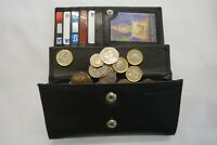 Ladies Leather Purse Wallet Organizer Large With Features Top Brand Black RFID