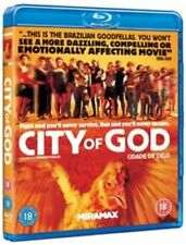 City of God 2002 Blu-ray (uk) Disc Movie Drama Region B