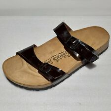 AMPUTEE SINGLE (LEFT SHOE ONLY) Birkenstock Brown Sandal Womens 10 Mens 8