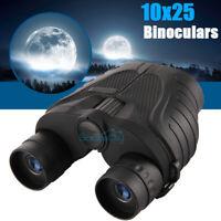 10x25 Starscope Binoculars Day Night Vision BAK4 Prism High Power Waterproof