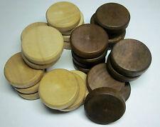 Brettspielzubehör Backgammon Spielsteine 30 x 8 mm Zubehör Holz