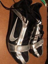 Nike Running Spikes  5.5 Bowerman - Black And Silver