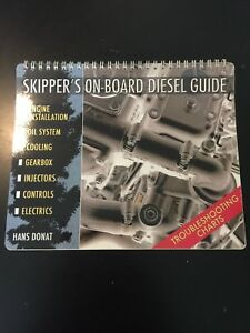 Skippers Onboard Diesel Guide By Hans Donat New REDUCED!!