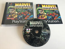 Marvel Super Heroes | Sammlerstück Wie NEU | CIB MINT PS1 | Spiderman X-Men