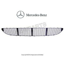Mercedes W211 E320 E350 E500 Front Center Bumper Cover Grille Genuine 2118850053