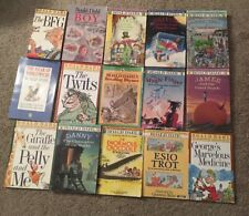 Roald Dahl book lot of 15 - Charlie, Peach, BFG, Danny, Magic Finger & more