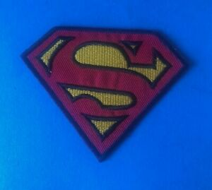 SUPERMAN SEW OR IRON ON PATCH