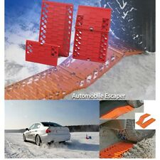 Traction tracks automobile escaper vehicle recovery Mat Tire Grip Set Snow Mud