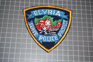 Elyria Ohio Police Patch (US-Pol)