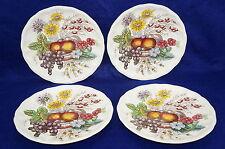 """Spode Reynolds Set of (4) Luncheon Plates, 8 3/4""""-Old Copeland Spode Backstamp"""