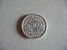 50 centimes Francisque 1944 C SPL 64