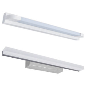 Modern Adjustable Twin LED Mirror Picture Bathroom Wall Light Warm White 3000K