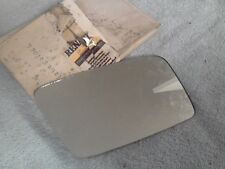 Renault 21 Drivers Side Mirror Glass New Genuine 7701366263