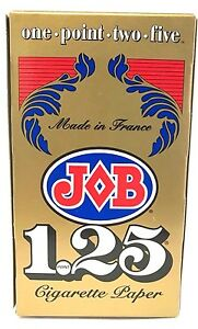 Job 1.25 Cigarette Rolling Papers Box - 24 Booklets - 1 1/4 Size