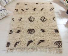 High Quality Beni Ourain Berber Handmade Rug Organic Wool Authentic Moroccan