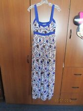 Forever Maxi Long Summer Dress Sz S Small Polyester Bust 30 33 Length 53 inch