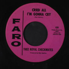 ROYAL CHECKMATES: Get Out Of My Life Woman / Cried All I'm Gonna Cry 45 Hear! (