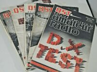 Vintage Lot Of 12 Qst Amateur Radio Magazines Ham Radio 12 issues 1961(Complete)