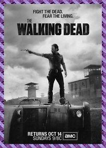 Photo Card The Walking Dead Walking