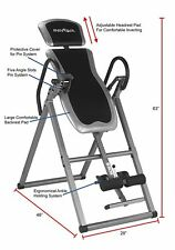 Heavy Duty Gravity Inversion Table Fitness Back Pain Relief Exercise *NEW*