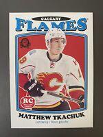 Matthew Tkachuk 2016-17 Rc Rookie Card O-PEE-CHEE Calgary Flames See Pics Rare!