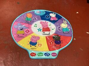 Large Peppa Pig Educational Interactive Music Playmat Numbers/Colours/Shapes
