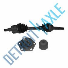 2 pc. Set - Front Driver Side CV Axle Shaft and Lower Ball Joint - 4WD