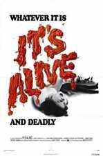 Its Alive Poster 02 Metal Sign A4 12x8 Aluminium