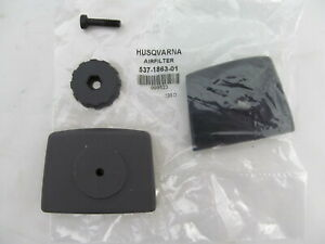 GENUINE OEM HUSQVARNA AIR FILTER COVER KIT 537186301  503888001 123 223 322 323