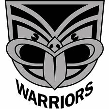 NRL New Zealand Warriors Mens Double Dog Tag Stainless Steel Necklace RRP $49.95