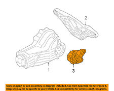 AUDI OEM 07-11 S6 Axle Differential-Rear-Support 8E0599125L