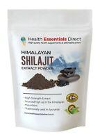 Pure Himalayan Shilajit Extract (High Grade Genuine Shilajit) Choose Size: