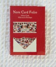 Usps Santa Note Card Folio 8 Cards + Envelopes Seasons Greetings Vintage Sealed