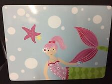 Pottery Barn Kids Mermaid Placemat Tabletop Beach Sea Kitchen Table Easter New