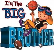 ****I'M THE BIG BROTHER****FABRIC/T-SHIRT IRON ON TRANSFER