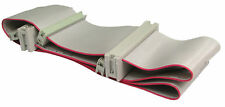 """Fast Flexible Cool DUAL FLOPPY DRIVE RIBBON CABLE 3.5"""" Disc Disk Drive FDD 60cm"""