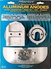 MerCruiser Alpha 1 one Gen 2 Aluminum Anode Zinc KIT Salt Brackish CMALPHAKITA