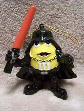 Star Wars M&M's Mpire YELLOW Darth Vader Christmas Ornament Kurt Adler NIB Mint