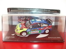 ford focus WRC sweden rally 2010 1/43 la passion du rallye IXO altaya