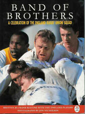 BAND Of Brothers England 1995 RUGBY BOOK FRANK Keating
