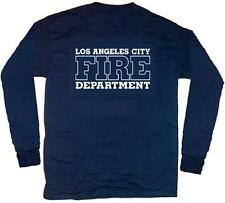 Los Angeles City Fire Dept. T-shirt  XL  Long Sleeves