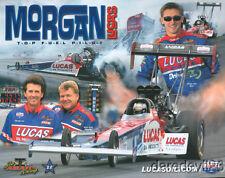 2005 Morgan Lucas/Joe Amato Lucas Oil Top Fuel NHRA postcard